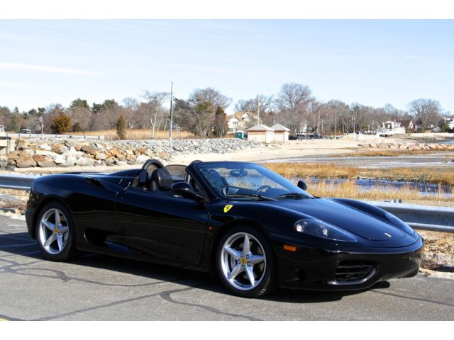 Ferrari : 360 SPIDER 2001 ferrari f 360 spider f 1 13 500 miles gorgeous tubi exhaust