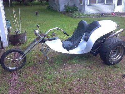 Custom Built Motorcycles : Chopper Custom VW Trike Motorcycle ED ROTH
