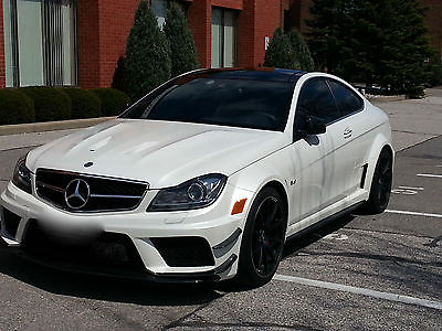Mercedes-Benz : C-Class AMG Black with Track Pack 2012 mercedes benz c 63 amg black series with track pack