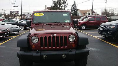 Jeep : Wrangler Wrangler x 2008 jeep wrangler unlimited x sport utility 4 door 3.8 l