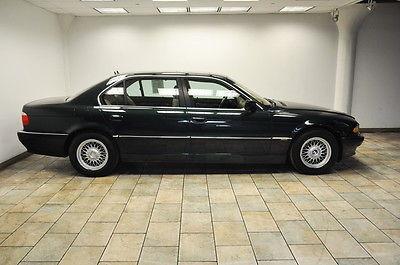 BMW : 7-Series 740iL 740 2001 bmw 740 il navigation low miles rare color