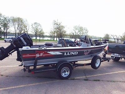 Lund Pro V Dlx Boats for sale