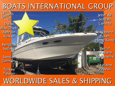 2000 Sea Ray 310 Sundancer Handyman We Ship/Export Worldwide
