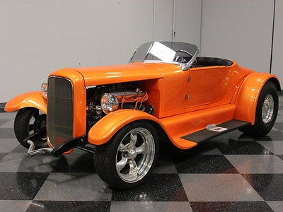 Ford : Other SHOW-N-GO '27 ROADSTER, STRONG 350 V8, AUTO, FORD 9