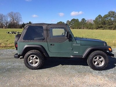 Jeep : Wrangler 1999 jeep wrangler