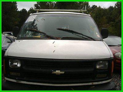 Chevrolet : Express 1500 3dr Van 2002 1500 3 dr van used 5 l v 8 16 v automatic rwd