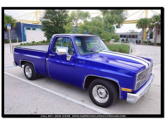 GMC : Other C1500 1984 gmc c 1500 5.7 700 r auto a c short box short bed show paint tonneau cover