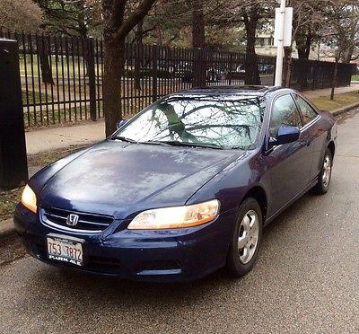 Honda : Accord 2DR Honda Accord EX 2001 Blue Pearl