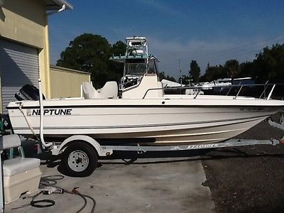 1995 Sunbird Neptune with 90HP Evinrude and 2003 EZ Loader Trailer