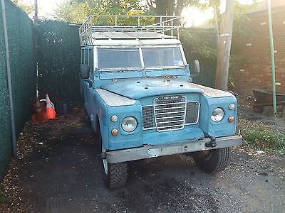 Land Rover : Other 109 1979 land rover 109 series iii rhd rare safari roof