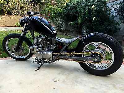 Custom Built Motorcycles : Bobber 2007 honda rebel custom bobber motorcycle 250 cc mono shock