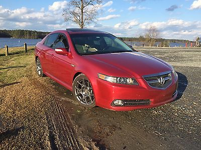 Acura : TL Type S 2007 acura tl type s 6 speed red