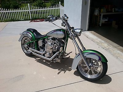 Custom Built Motorcycles : Chopper CUSTOM SUPERCHARGED Chopper