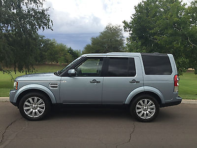 Land Rover : LR4 LUX 2012 land rover lr 4 hse lux 3 rd row seat 19 wheels exceptional condition