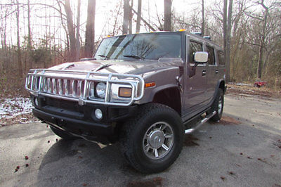 Hummer : H2 4dr Wagon SUV 2005 hummer h 2 navigation heated seats moon roof clean car fax we finance