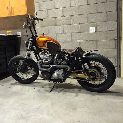 Custom Built Motorcycles : Bobber Custom motorcycle