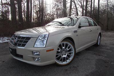 Cadillac : STS 4dr Sedan V6 RWD w/1SA 2011 cadillac sts navigation heads up display clean car fax heated seats