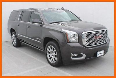 GMC : Yukon Denali Yukon XL 2015 gmc yukon denali xl 7 k miles 1 owner local trade navigation we finance
