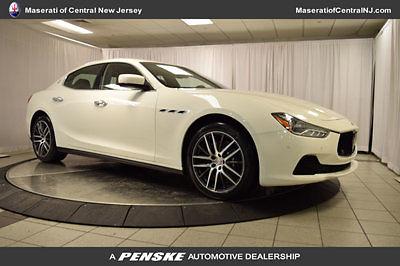 Maserati : Ghibli 4dr Sedan S Q4 4 dr sedan s q 4 new automatic gasoline 3.0 l v 6 cyl bianco