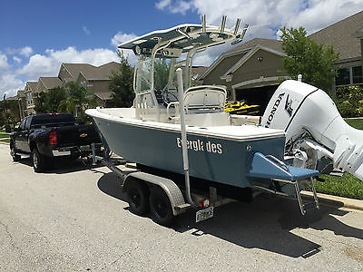 EVERGLADES 211CC Center console FULLY LOADED Fishing Boat w/ 225hp Honda