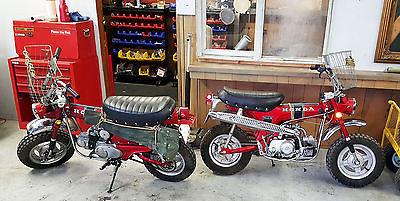 Honda : CT 1969 honda trail 70 s matching set