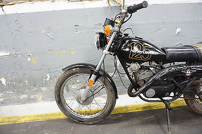 Harley-Davidson : Other 1975 harley davidson sx 125 aermacchi harley amf sx 125 enduro parts bike
