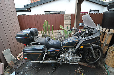 Honda : Gold Wing HONDA GOLDWING 1500 INTERSTATE NOT RUNNING PROJECT OR PARTS