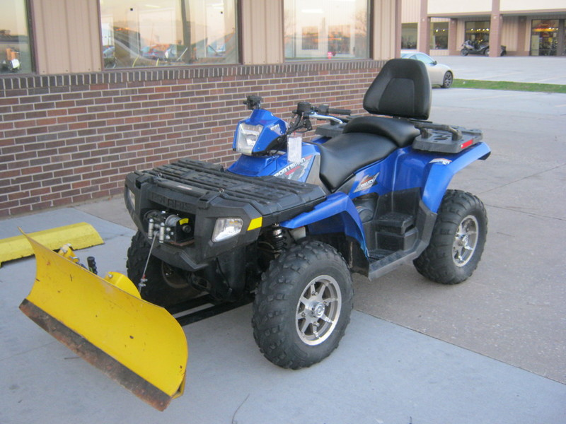 Polaris Sportsman 500 With Snow Plow Motorcycles for sale