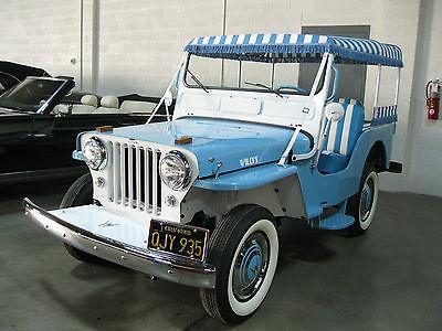 Willys : Surrey Gala 1960 jeep gala surrey