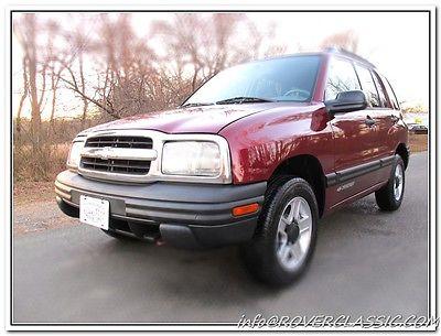 Chevrolet : Tracker 4x4 2003 chevrolet tracker 4 x 4
