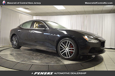 Maserati : Ghibli 4dr Sedan S Q4 4 dr sedan s q 4 new automatic gasoline 3.0 l v 6 cyl nero ribelle mica