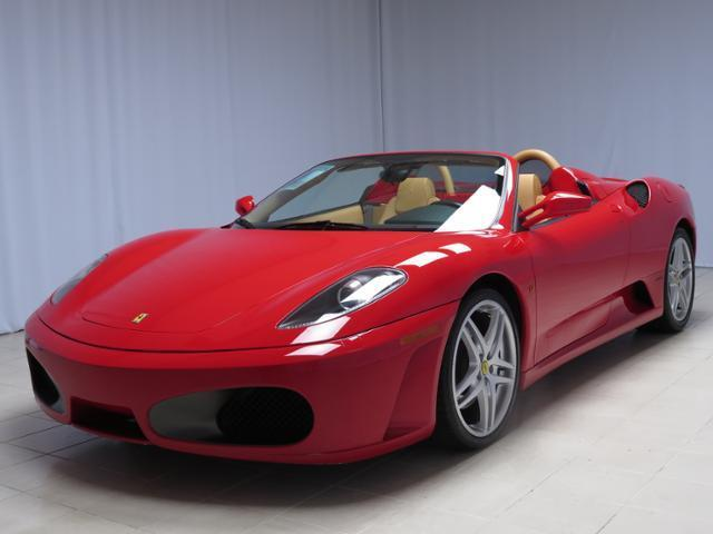 Ferrari : Other Spider 2006 ferrari f 430 f 1 spider low mileage red over beige