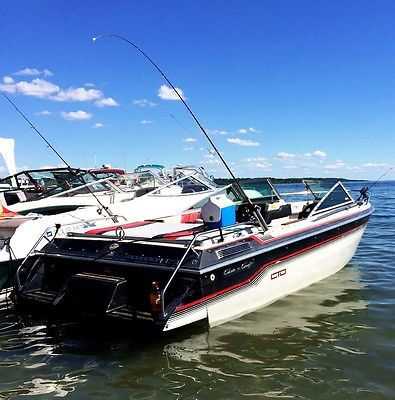1986 Chris Craft Scorpion 178 Limited with Trailer Tons of Updates