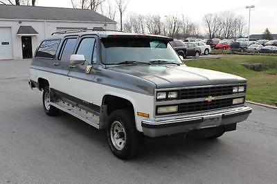 Chevrolet : Suburban V1500 4WD 1990 chevrolet suburban 1500