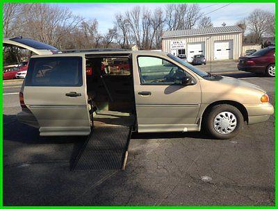 Ford : Windstar GL 1998 gl used 3.8 l v 6 12 v automatic fwd wagon