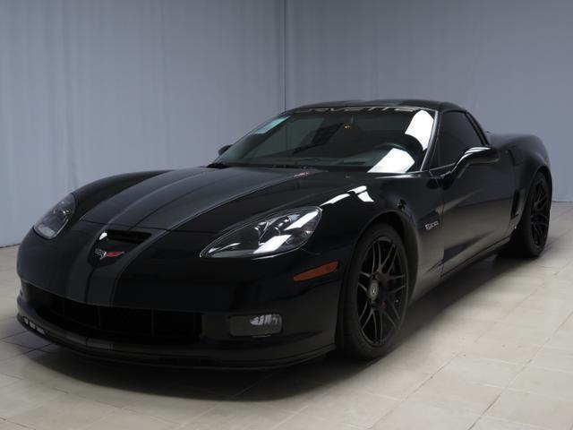 Chevrolet : Corvette Z06 2008 chevrolet corvette z 06 427 black with grey stripes ferrari trade
