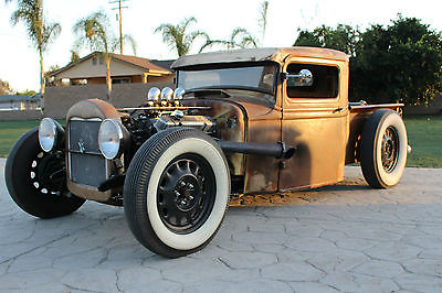 Ford : Other Pickups Standard Cab Truck 1934 ford rat rod pick up truck bb mopar 383 tri power boling bro s early iron