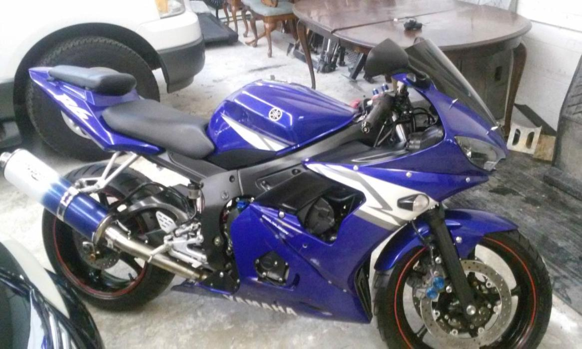 Yamaha yzf r6 motorcycles for sale in old bridge new jersey for Yamaha motorcycles nj
