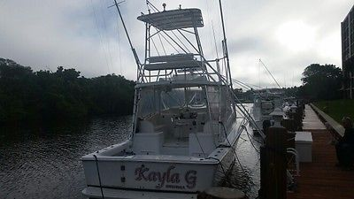 1995 LUHRS 32 OPEN EXPRESS !!! TWIN YANMAR DIESELS !! LOADED WITH FURUNO!!