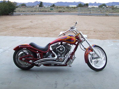 Bourget : Low Blow 2002 bourget pro street softail chopper