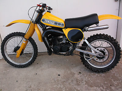 Yamaha : YZ 1978 yamaha 250 yz calif vintage mx racing bike runs great cosmo restorton sweet