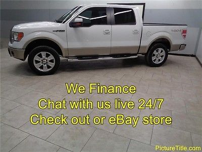 Ford : F-150 Lariat 4WD Crew Cab Leather Heated Cooled Seats 1 Texas Owner 10 f 150 lariat 4 x 4 leather heated cooled seats we finance 1 texas owner