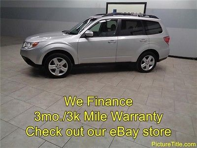 Subaru : Forester 2.5X Limited Leather Heated Seats Sunroof 10 forester limited leather heated sunroof 6 disc cd warranty we finance texas