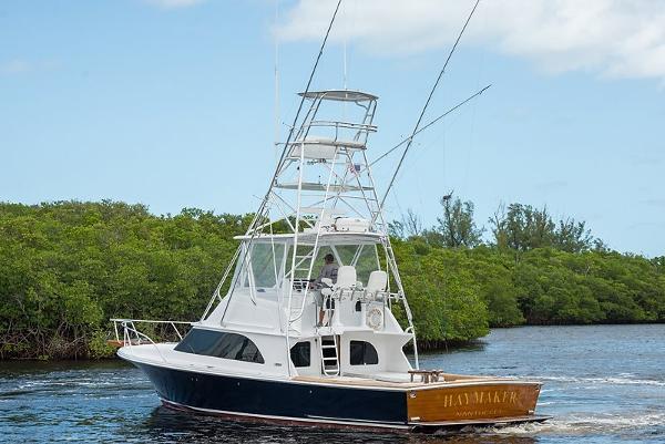 2009 Custom Liberty Flybridge 42 Sportfish