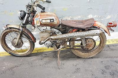 Harley-Davidson : Other 1971 aermacchi m 125 rapido harley m 125