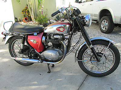 BSA : LIGHTNING  1966 bsa lightning a 65 l original condition mechanically restored