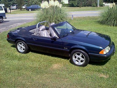 Ford : Mustang LX 1989 mustang lx convertible