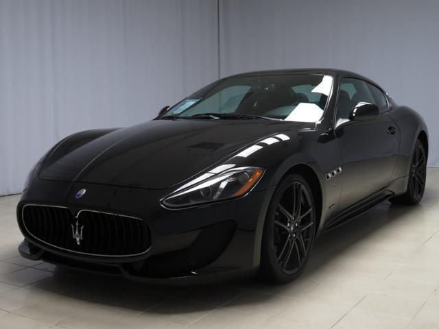 Maserati : Other 2dr Cpe Gran 2015 maserati gran turismo sport black with extremely low mileage