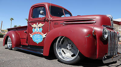 Ford : Other Pickups Jailbar 1947 ford hot rod truck pro street pro touring custom air bag 4 link suspension