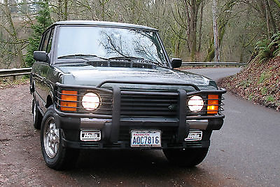 Land Rover : Range Rover Range Rover County Classic LWB AWD 4WD Rare find 1995 land rover classic range rover county lwb 4 wd awd 4.2 l clean and low miles
